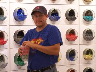 Me at the LEGO Store in Orlando