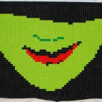 A Wicked Smile LEGO Mosaic by Duckingham Design
