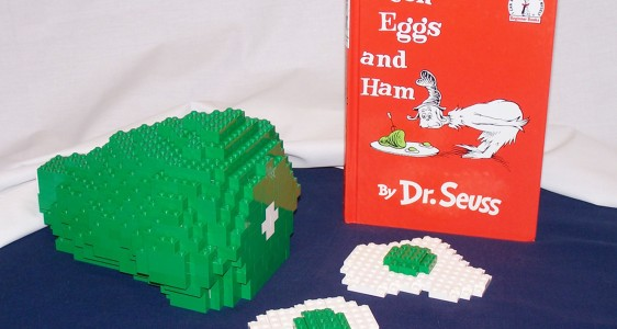 Lego Green Eggs and Ham by Duckingham Design