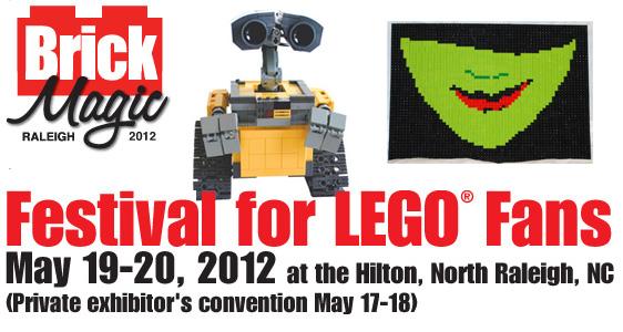 BrickMagic LEGO Festival 2012