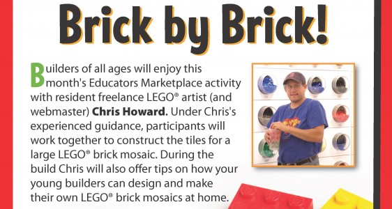 LEGO Mosaic Building Event Greenville, SC