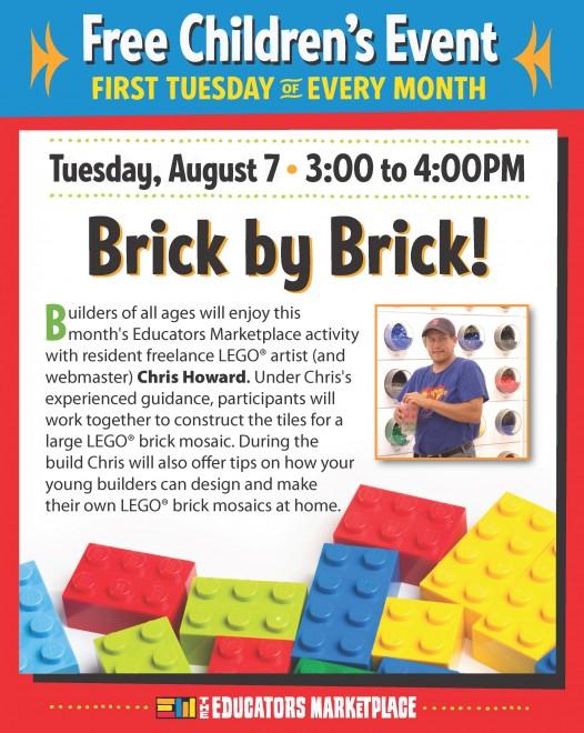 LEGO Mosaic Building Event Greenville, SC